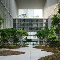 Amorepacific Headquarters, David Chipperfield Architects Berlin + HAEAHN Architecture + KESSON, Güney Kore