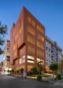 Kohan Ceram Central Office Building, Hooba Design Group, İran