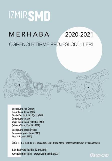 İzmir SMD Merhaba Yarışması Afiş