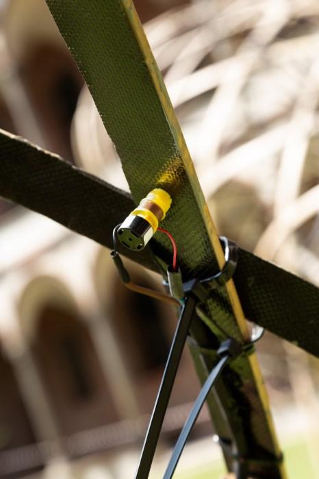 Detay Fotoğrafı, Bamboo Ring, OPPO & Kengo Kuma