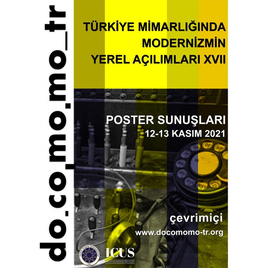 DOCOMOMO_Türkiye Poster Sunuşları