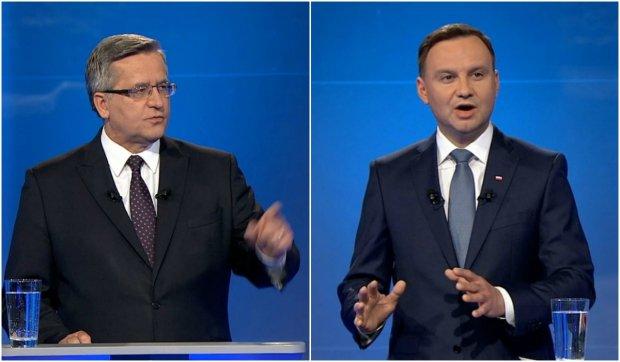 Debata Bronisław Komorowski - Andrzej Duda
