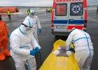 Pacjent z ebolą w samolocie? Akcja na lotnisku [zdjęcia]