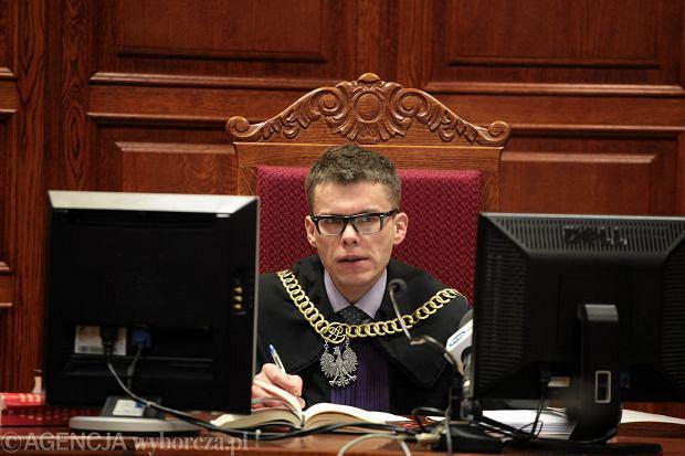 Przewodniczący SSO Igor Tuleya podczas procesu sądowego kardiochirurga Mirosława G. w sadzie okręgowym