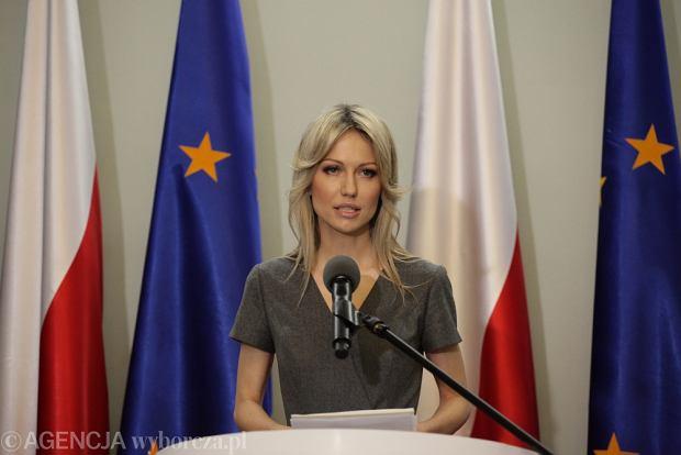 Konferencja Magdaleny Ogórek w Sejmie