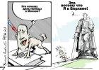 Schetyna jako ujadający pies na amerykańskiej smyczy? RIA Novosti publikuje karykaturę
