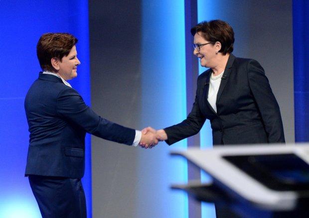 Debata Szydło-Kopacz w TVP