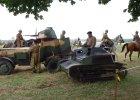 Rekonstrukcja bitwy pod Mokrą. Były czołgi niemieckie i samolot [ZDJĘCIA]