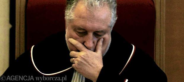 Trybunał Konstytucyjny. Sędzia Andrzej Rzepliński