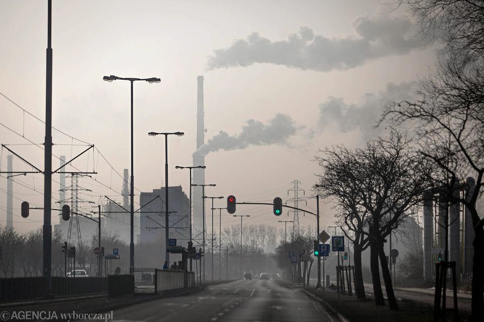 Smog nad Gdańskiem
