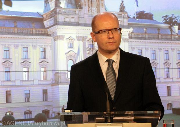 Premier Czech Bohuslav Sobotka