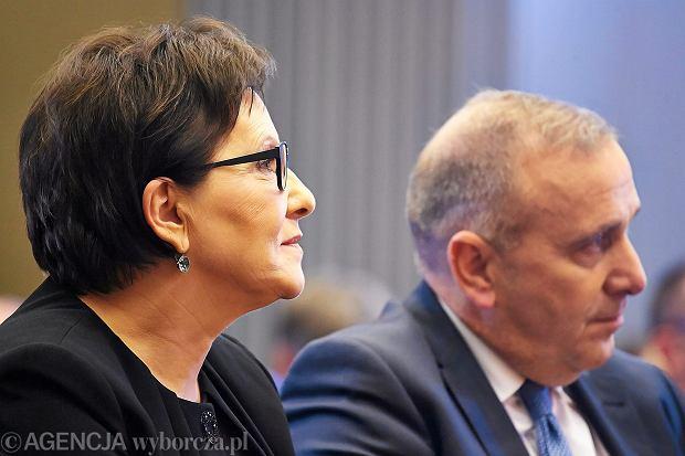 Ewa Kopacz i Grzegorz Schetyna