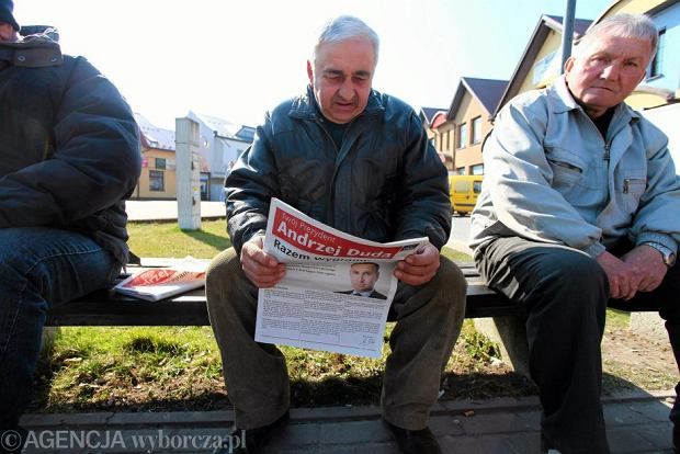 Gazeta komitetu wyborczego Andrzeja Dudy
