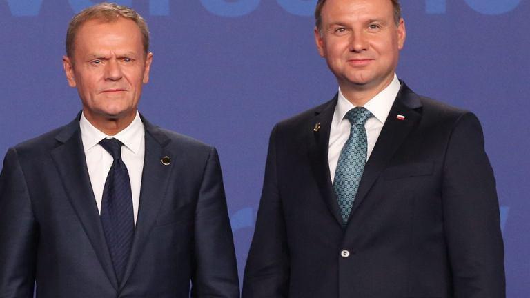Donald Tusk, Andrzej Duda
