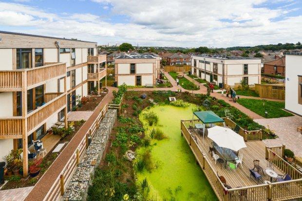 LILAC - w pełni ekologiczne osiedle firmy Modcell z Bristolu