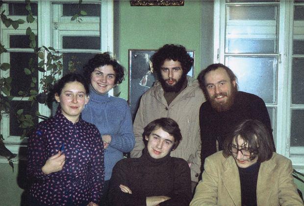 Rok 1978: Liliana Batko ( Sonik), Danuta Sotwin (Skóra), Józef Baran, Bronisław Wildstein, Bogusław Sonik, Lesław Maleszka