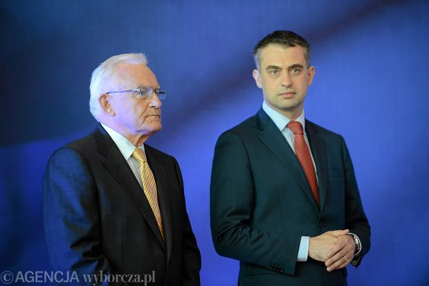 Leszek Miller i Krzysztof Gawkowski
