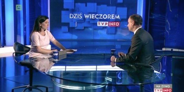 Wywiad Beaty Tadli z Andrzejem Dudą w TVP Info
