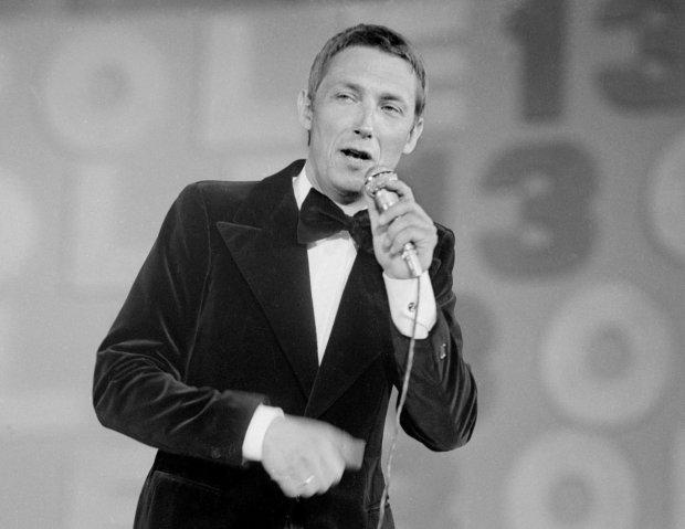 Wojciech Młynarski na festiwalu w Opolu, 1975 r.