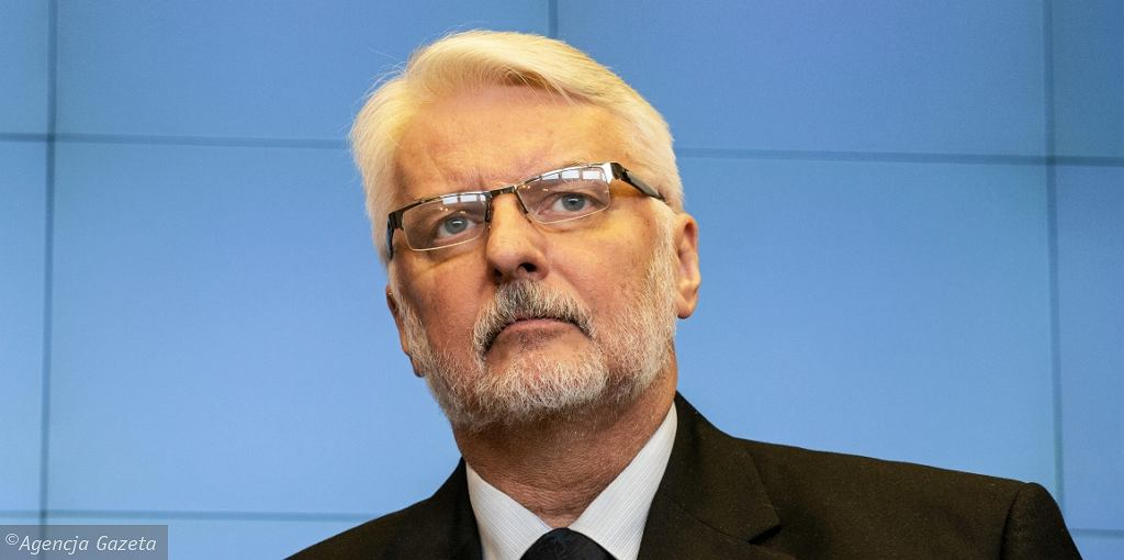 Szef polskiego MSZ Witold Waszczykowski (fot. Dawid Żuchowicz/AG)