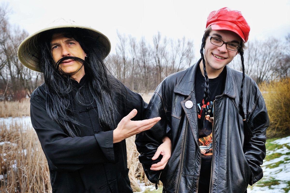 Zacier z synem (fot. Konrad Jaraszek)