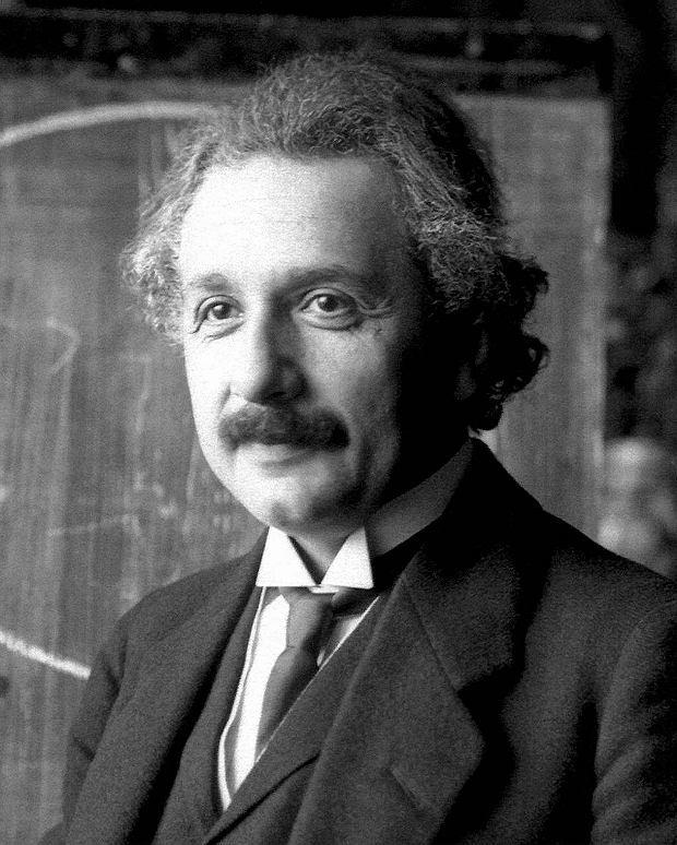 Albert Einstein. Zdjęcie z roku 1921, kiedy dostał Nagrodę Nobla
