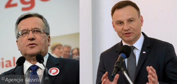 Prezydent Bronisław Komorowski | Andrzej Duda