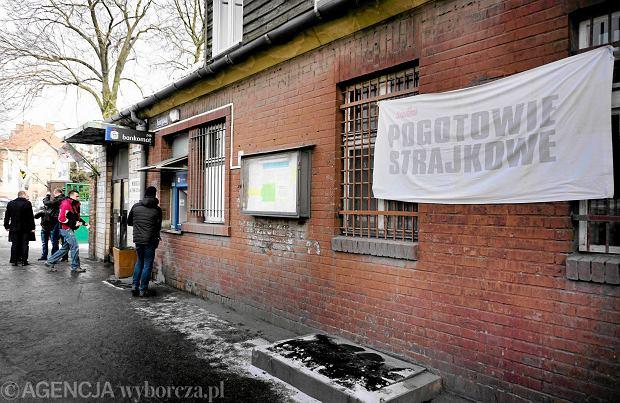 Bytom, akcja protestacyjna w kopalni Borek
