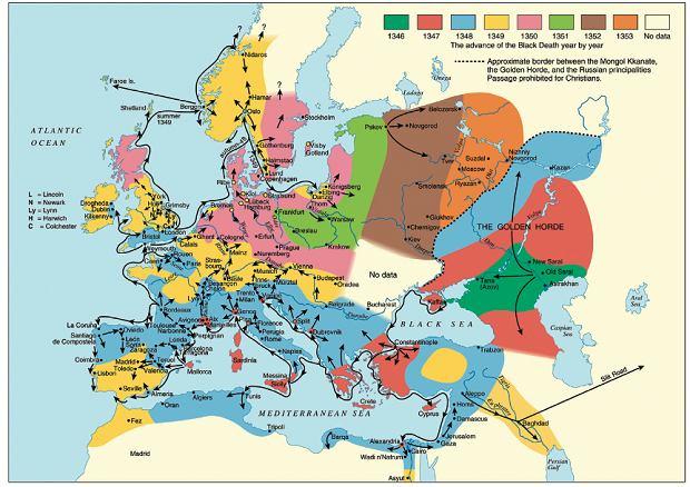 Dżuma w Europie 1346-1353