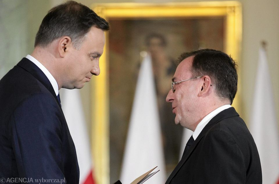 Dzięki ułaskawieniu przez prezydenta Andrzeja Dudę Mariusz Kamiński mógł zostać zaprzysiężony jako minister-koordynator służb specjalnych w obecnym rządzie