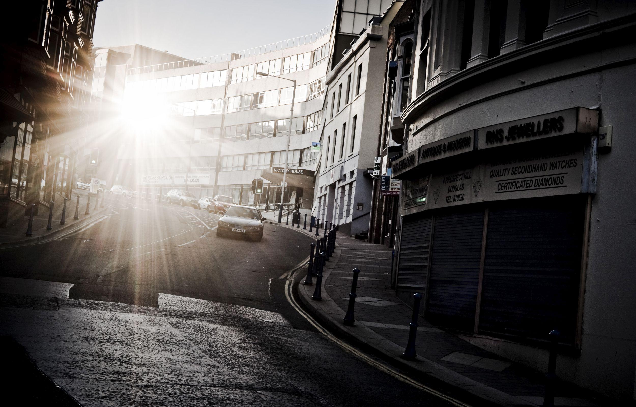 Ulica w mieście (fot. Maciej Mosur)