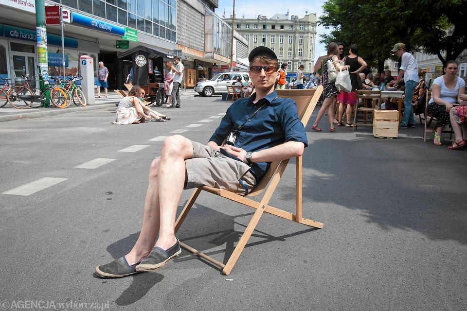 Franek Sterczewski - organizator Pikniku pod Alfami