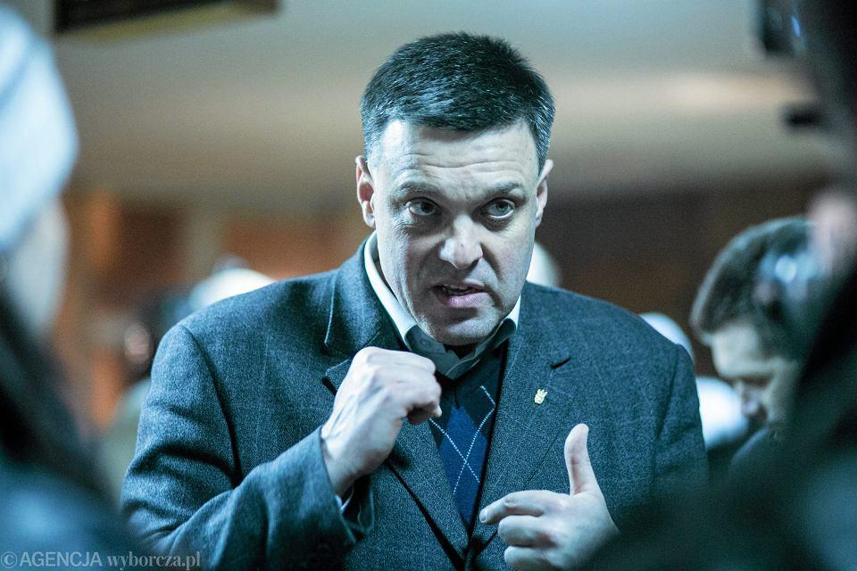 Lider partii Swoboda Oleg Tiahnybok