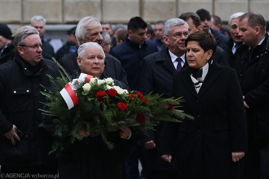 Jarosław Kaczyński znów na Wawelu.