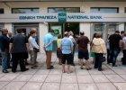 Kolejki przed greckimi bankomatami. Jutro zabraknie gotówki? EBC decyduje: utrzymamy pomoc na obecnym poziomie