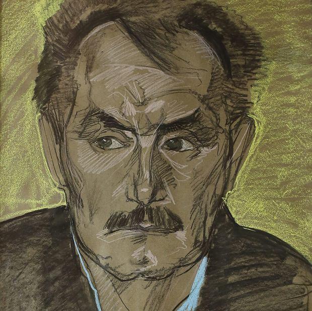 Trzy miesiące przed śmiercią poety odwiedził Kasprowiczów w Harendzie Stanisław Ignacy Witkiewicz. Rysując portret Kasprowicza, umieścił jego zmizerniałą twarz w żółtej poświacie - Witkacy tak przedstawiał modeli, którzy wedle jego intuicji mieli wkrótce umrzeć.