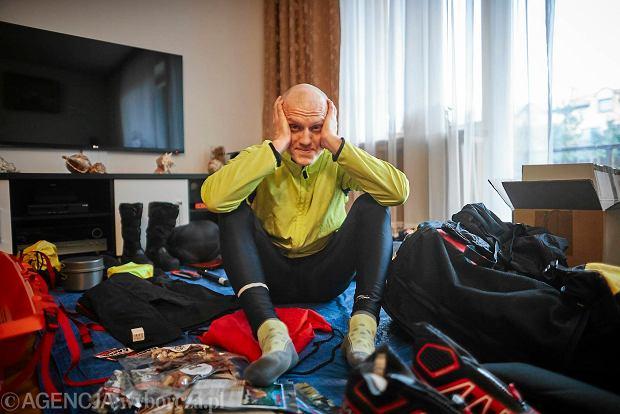Michał Kiełbasiński, ultramaratończyk z Łodzi