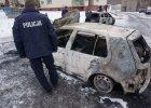 """Kibole Górnika Zabrze podpalali auta w Rudzie Śląskiej. """"To wojna szalikowców"""""""