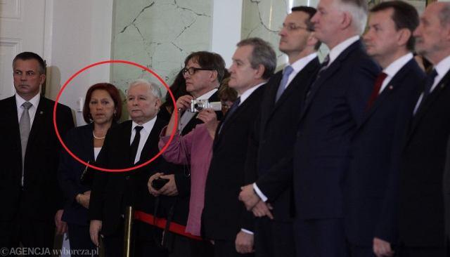 Znalezione obrazy dla zapytania barbara skrzypek sekretarka janiszewskiego zdjecia