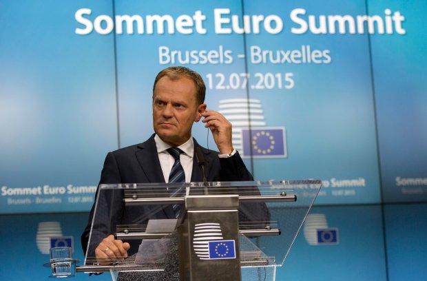 Donald Tusk po spotkaniu eurogrupy