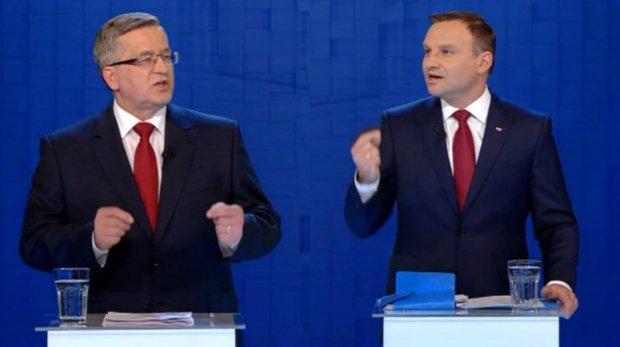 Komorowski i Duda zachowywali się źle - poziom debaty był po prostu niski