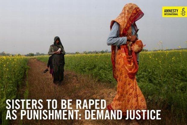 Amnesty International zebrała 16 tysięcy podpisów przeciwko szokującemu wyrokowi wiejskiej rady w Baghpat w Indiach