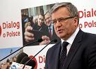 """Komorowski: """"Wezmę udział w debacie, jeżeli dojdzie do drugiej tury"""""""