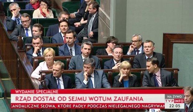 Głosowanie o udzielenie wotum zaufania dla rządu Donalda Tuska