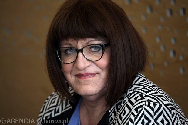 Anna Grodzka podczas posiedzenia Sejmu VII kadencji