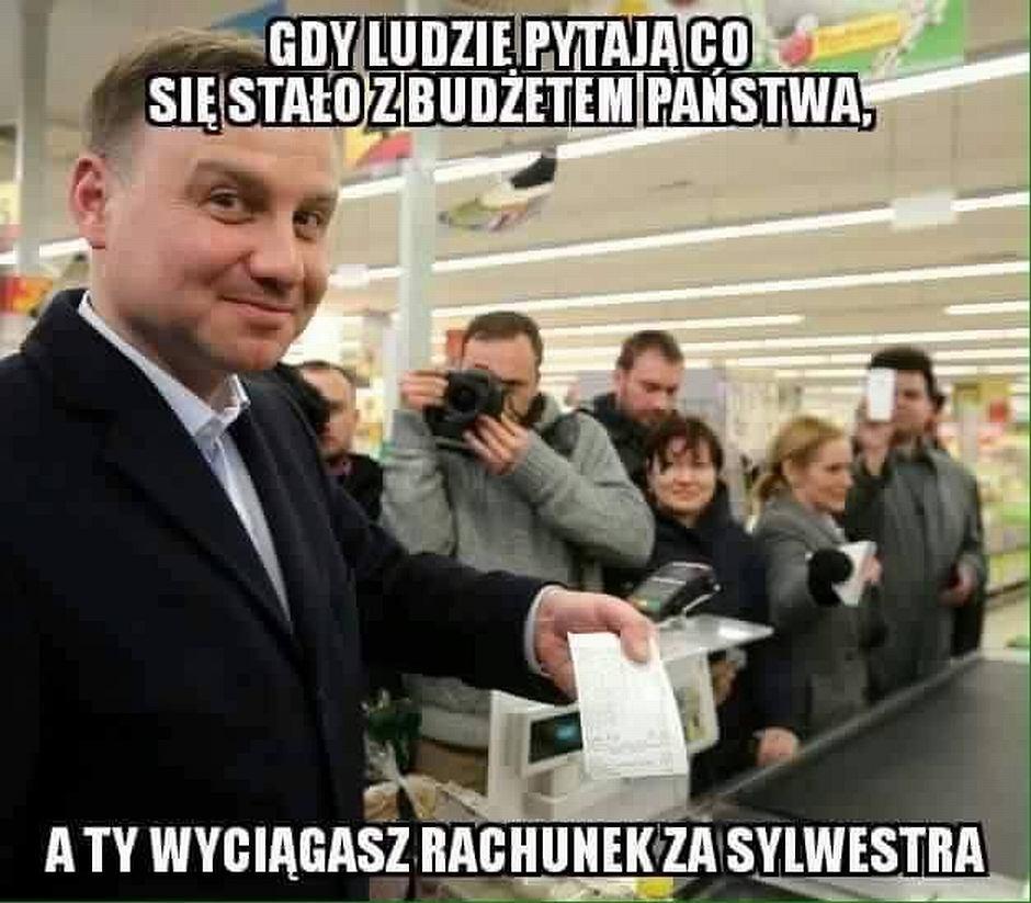 Andrzej Duda na memach