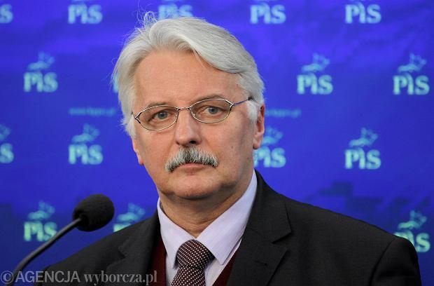 Minister Waszczykowski - nowy szef MSZ