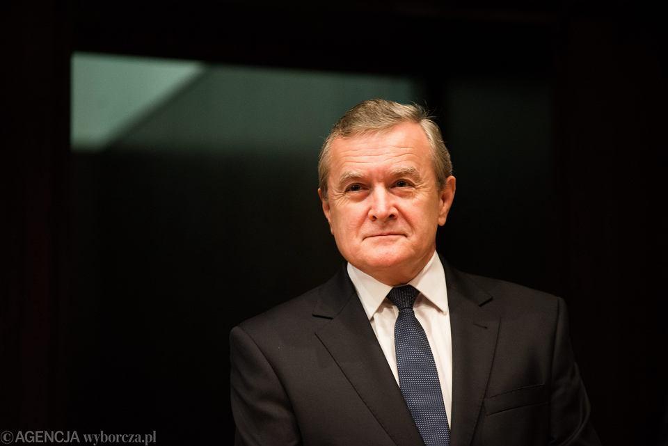 Wicepremier, minister kultury w rządzie PiS Piotr Gliński