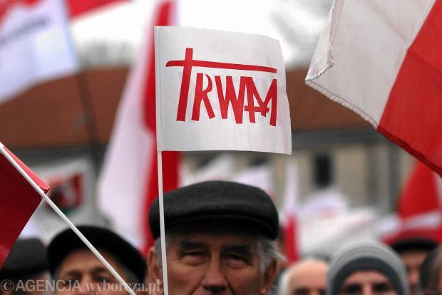 Marsz w obronie TV Trwam, Lublin 17.11.2013