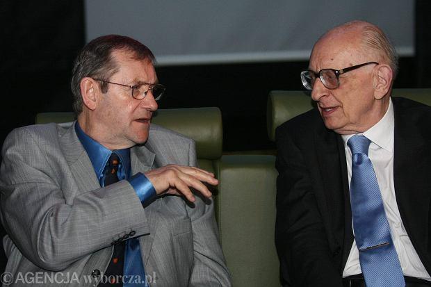 Norman Davies i Władysław Bartoszewski